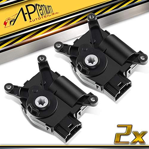 2x Stellelement Motor Mischklappe Klimaanlage Zentralklappe für Q3 Altea 5P Leon Octavai II 1Z3 EOS Golf V VI 1K 5K 2003-2019 1K0907511Q