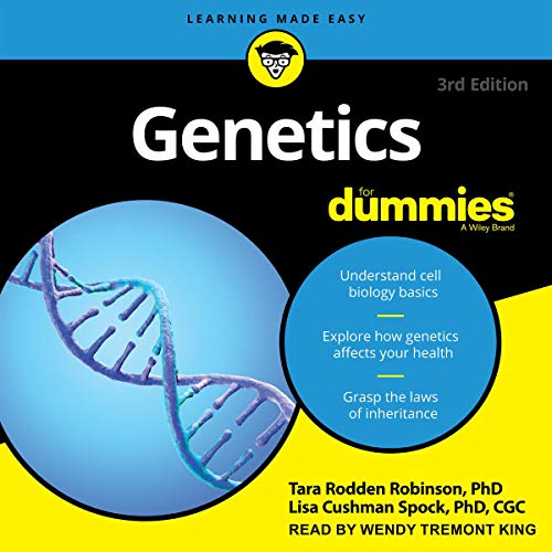 Genetics for Dummies audiobook cover art