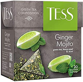 Tess Ginger Mojito, Green Tea, Lemon Peel and Mint (Mojito