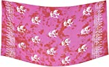 La Leela Badebekleidung glatt Rayon vertuschen Delfinen Bikini Sarong 78×43 Zoll rot - 5