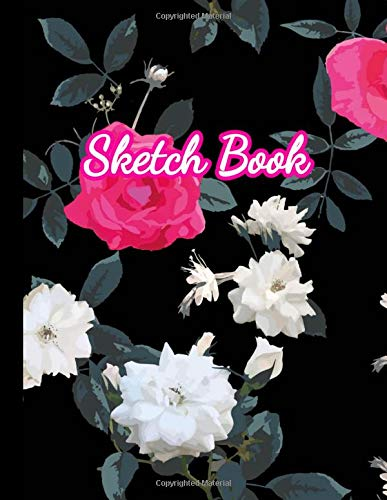 Sketch Book: Large Notebook for Drawing, Doodling or Sketching: 100 Pages, 8.5