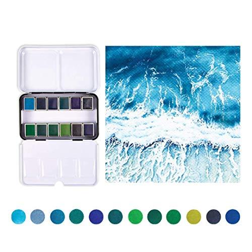 Prima Marketing Prima Confections Watercolor Pans 12/Pkg-Currents