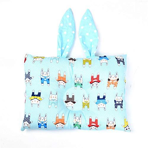Tiners Baby Kissen Anti-Header Kaninchen geformte Kissen Newborn 0-3 Jahre alt Baby Kissen Baby Baumwolle Vier Jahreszeiten