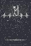 Notizbuch: Kleiner Strichmännchen Skifahrer I Weißes Papier I 120 Seiten I Kariert I Kladde I Notizheft I Skizzenbuch I DIN-A5 I Perfektes Geschenk für jedem Schifahrer und Skiläufer [Kästchenpapier]