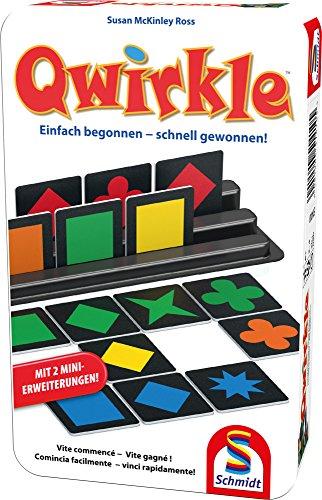 Schmidt Spiele 51410 51410-Qwirkle, Weiss