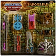 HeMan Masters of the Universe Classics Exclusive Ultimate Battle Ground Weapons Pak
