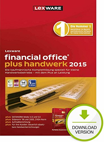 Lexware financial office plus handwerk 2015 [PC Download]