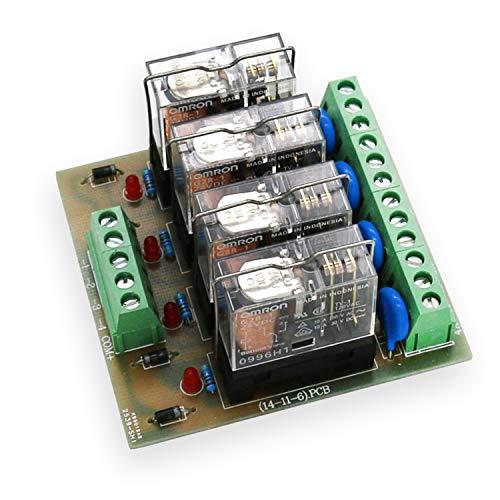 YEZIL Electronic Accessories Module 4 Relay Module Four Panels Driver...