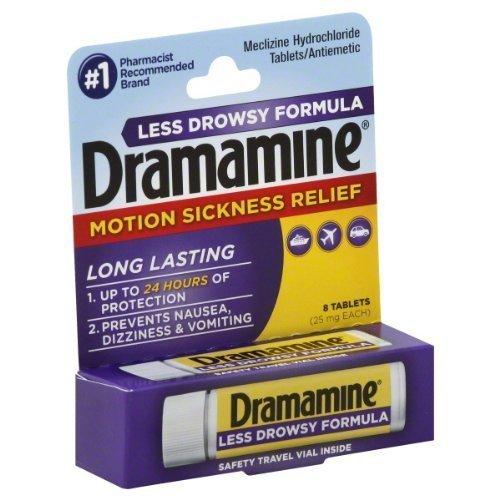 Dramamine Tablets Less Drowsy Formula