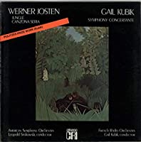 Werner Josten: Jungle & Canzona Seria / Gail Kubik: Symphony Concertante - Sealed
