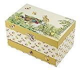 Trouseelle Peter Rabbit - Caja para tesoros y joyas musicales, ideal como regalo para niños, música ...