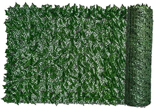 Künstliche Garten Sichtschutz Artificial Hedge Green Leaf-Ivy Zaun Bildschirm Pflanze Wand Fake Grass dekorative Kulisse für den Schutz der Privatsphäre Home Balcony Garden lpzsmd0720