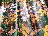 EWDF Película de Ventanas de protección de privacidad de Calidad Estilo múltiple;Pegatinas de Color; Lámina Helada autoadhesiva de Navidad (Color : 45x400cm)