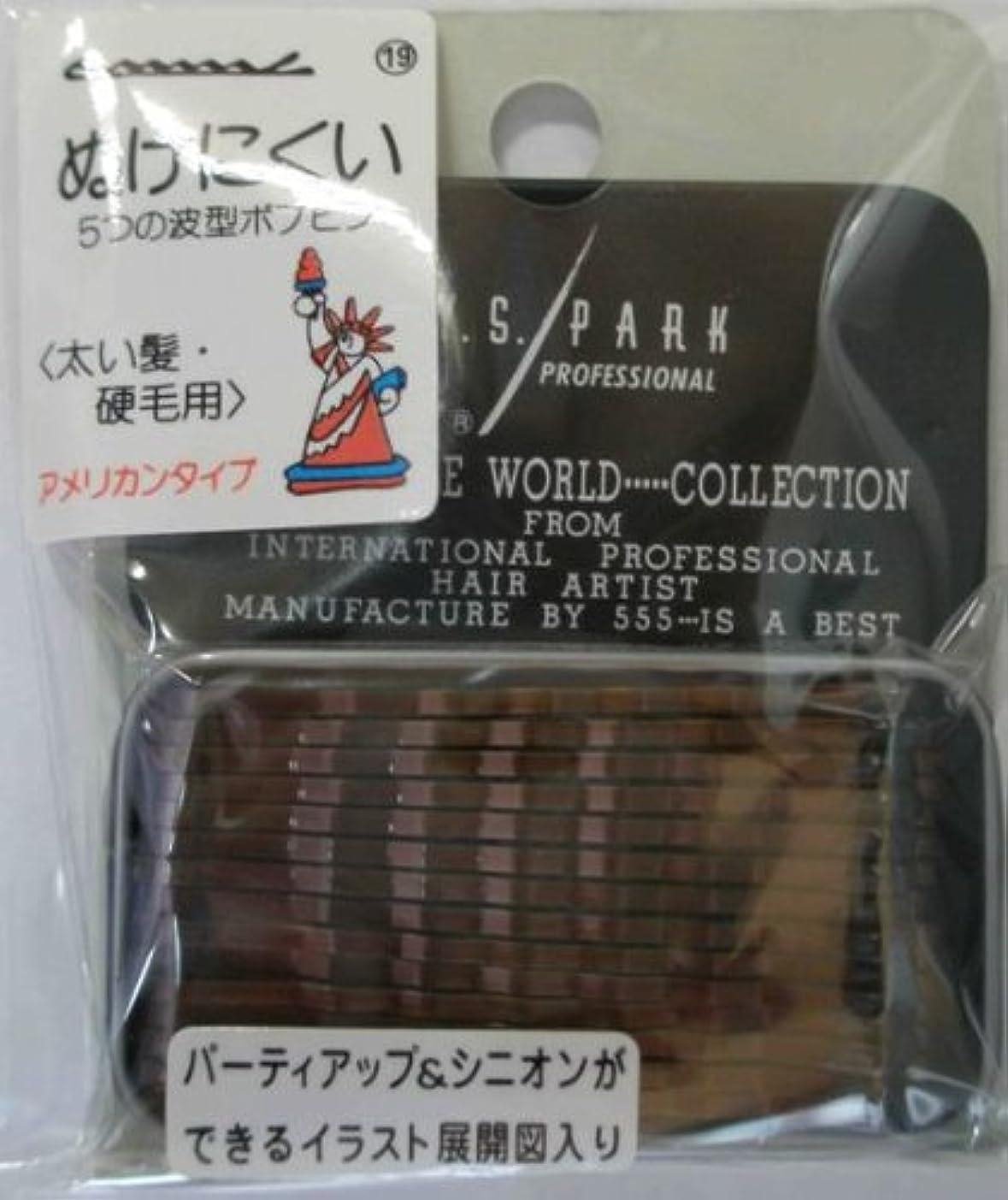 カール長くするスカイY.S.PARK世界のヘアピンコレクションNo.19(太い髪?硬毛用)アメリカンタイプ40P