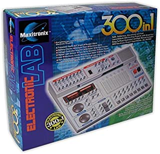 300 in 1 Electronics Lab Learning Kit for Ages 14 & up/Manual Included
