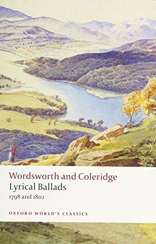 Wordsworth, W: Lyrical Ballads (Oxford World's Classics)