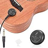 OTraki Micro Guitare Acoustique, Electriques Transducteur Guitares De Volume Micro capteur d'amplification pour Instrument de violon classique acoustique ukulélé, mandoline, banjo, violoncelle