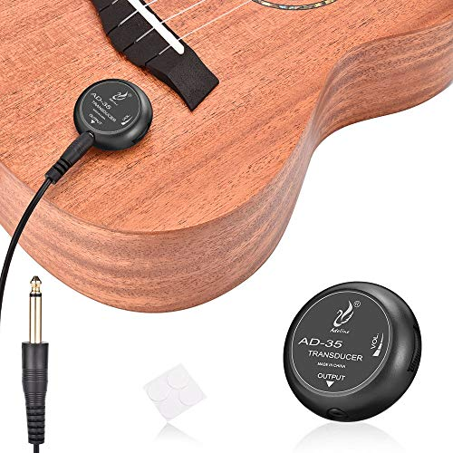 OTraki Acoustic Guitar Pickup Stable Contact Microphone Transducer Self...