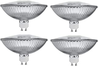 4 Pack 75R111/GU10/FL - 75 Watt Halogen R111 Reflector 120V- GU10 Base (Twist & Lock) Glass Cover - 75W Flood Light Bulb Halogen Bulb - Landscape, Downlights, Recessed, and Track Lighting Bluex Bulbs