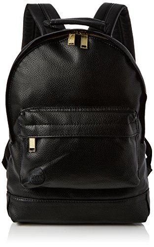 Mi-Pac Mini Backpack Tumbled Mochila Tipo Casual, 33 cm, 10.5 Litros, Tumbled Black