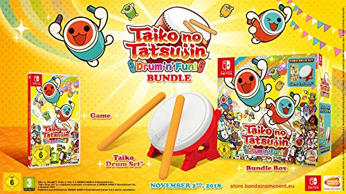 Taiko No Tatsujin: Drum'n Fun - Bundle Con Tambor