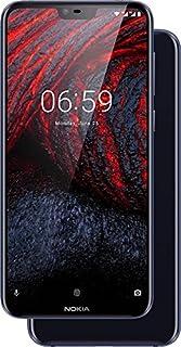 Nokia 6.1 Plus Dual Sim - 64 GB, 4 GB Ram, 4G LTE, Blue, N61Pds64 GB4G