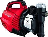Einhell Gartenpumpe GE-GP 9041 E (900 W, max. 4.8 bar, 4.100 L/h Fördermenge, max. 48 m Förderhöhe, Vorfilter, Rückschlagventil, Wasserablassschraube, Tragegriff)