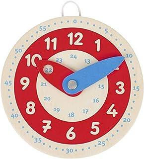 Goki 58485 Horloge pour Apprendre à Lire l'heure, Mixte