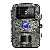 Victure Wildkamera mit Bewegungsmelder Nachtsicht 16MP 1080P Full HD Wildtierkamera mit Infrarot No Glow LEDs und IP66 Wasserdicht Beutekameras für