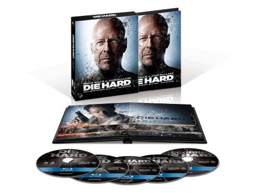 Die Hard: 25th Anniversary Collection (Die Hard / Die Hard 2: Die Harder / Die Hard with a Vengeance / Live Free or Die Hard / Decoding Die Hard) [Blu-ray]