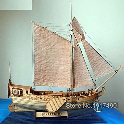 SIourso Maquetas Barcos Madera Kit De Modelo De Barco Hobby