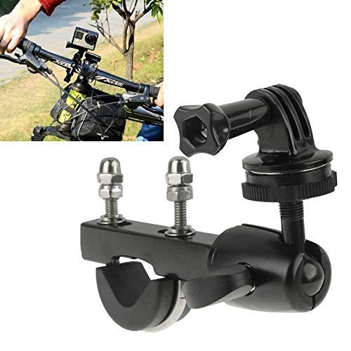 WJH Soporte de manillar tija de gran varilla de carga bicicleta de accesorio de bici de motocicleta con adaptador de montaje de trípode y tornillo for GoPro HERO6 / 5/5 Sesíon / 4 Sesíon / 4/3 / 3/2/1
