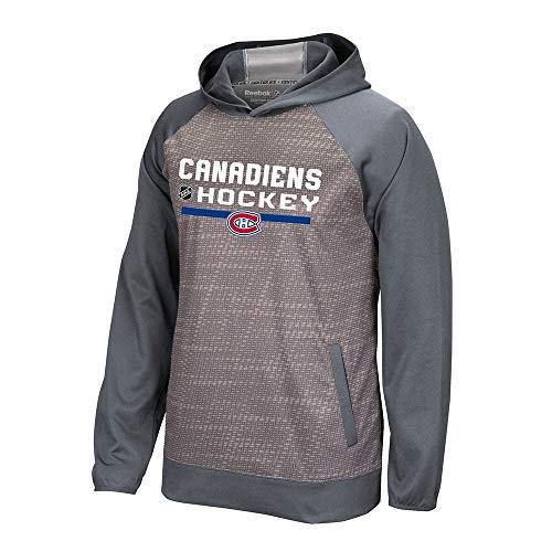 Montreal Canadiens Reebok Center Ice TNT Authentic Locker Pullover Hoodie Men's