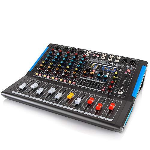 Professional Audio Mixer Sound Board Console Desk System Interface 8 Channel Digital...