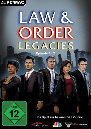 Preisvergleich Produktbild Law & Order Legacies - Das Spiel zur bekannten TV - Serie - Episode 1 - 7 - [PC / Mac]