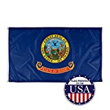 Vispronet - Idaho State Flag - 3ft x 5ft Knitted Polyester, State Flag Collection, Made in The USA (Flag Only)