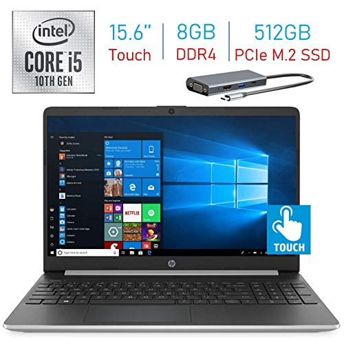 Compare HP 15.6 Touch 512GB SSD vs other laptops