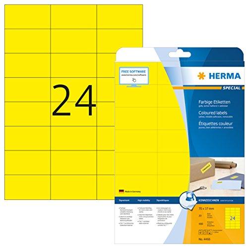 Herma 4466 - Pack de 480 etiquetas