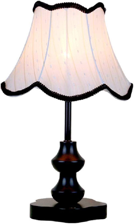 San Qing Tischlampenzauzimmer Wohnzimmer-Studie Dekorative Lampe Einfach Massid Holztisch Lampe