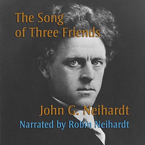 The Song of Three Friends audiobook cover art
