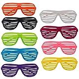 The Twiddlers 25 Gafas De Sol De Persiana Para Granel Fiestas De Juguete Gafas De Sol Disf...
