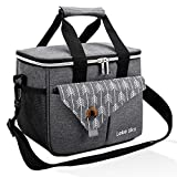 Lekesky Lunch Bags, Insulated Lunch Box for Men Women Lunch Cooler for Work, Tote Lunch Box Adult