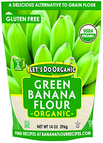 Let's Do Organic Green Banana Flour, 14 Ounce (BWA25059)