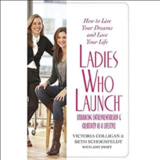 Ladies Who Launch audiobook cover art