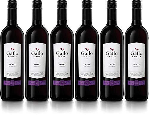 6x Shiraz 2018 - Weingut Gallo Family Vineyards, California - Rotwein