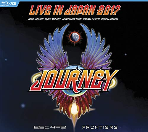 Escape & Frontiers Live in Japan (2cd+Blu-Ray)