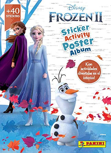 Frozen Movie 2 Mega Activity Poster