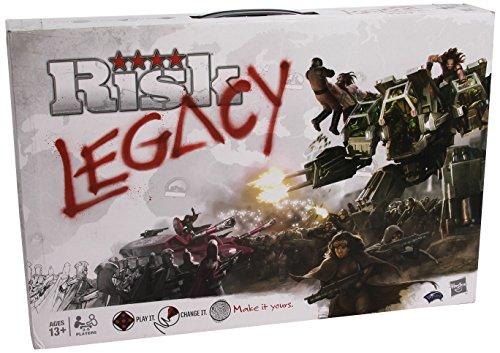 Risk Legacy - Jogo de Tabuleiro - Hasbro