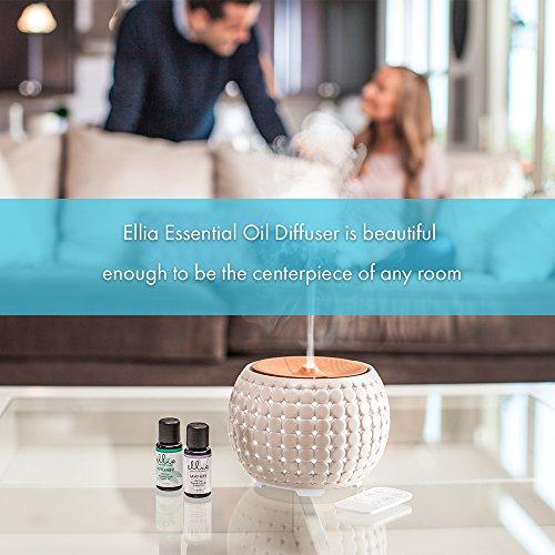 Ellia Gather Ultrasonic Aromatherapy Aroma Diffuser, White