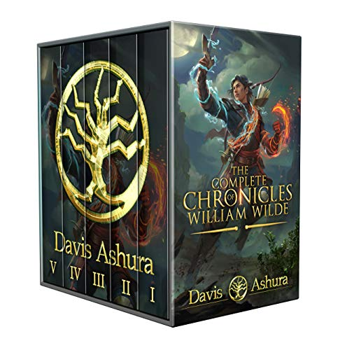 The Complete Chronicles of William Wilde-An Epic Fantasy Adventure: An Anchored Worlds Series by [Davis Ashura]